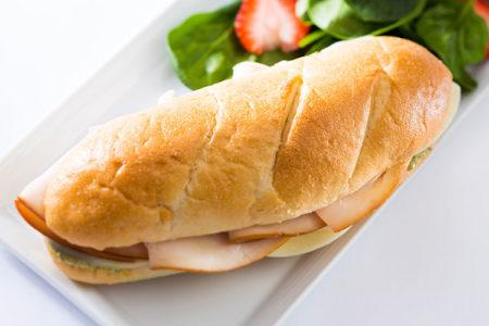 Hoagie sandwich
